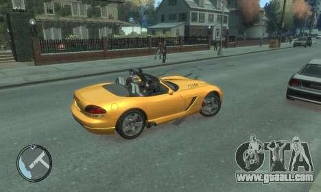 Dodge Viper SRT-10 2003 v2.0 for GTA 4 bottom view
