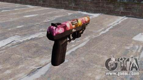 Gun FN Five seveN Dots LAM for GTA 4 second screenshot