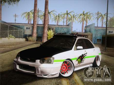 Subaru Impreza Hellaflush for GTA San Andreas