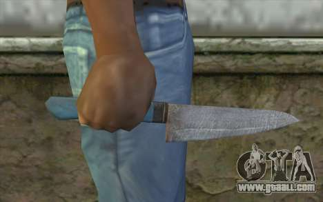 The old kitchen knife for GTA San Andreas third screenshot