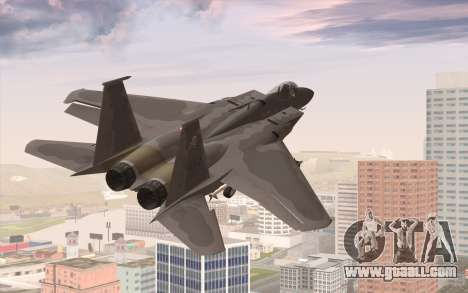 F-15C Eagle for GTA San Andreas left view
