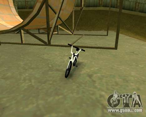BMX из GTA Vice City Stories for GTA San Andreas left view