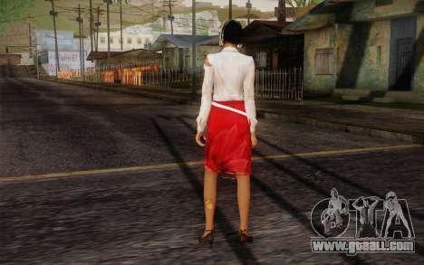 Xian Mei from Dead Island for GTA San Andreas second screenshot