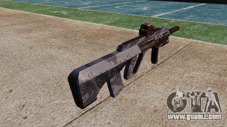 Автомат Steyr AUG-A3 Optic Blue Camo for GTA 4 second screenshot