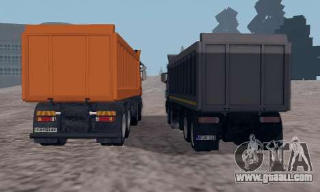 Scania P420 for GTA San Andreas inner view