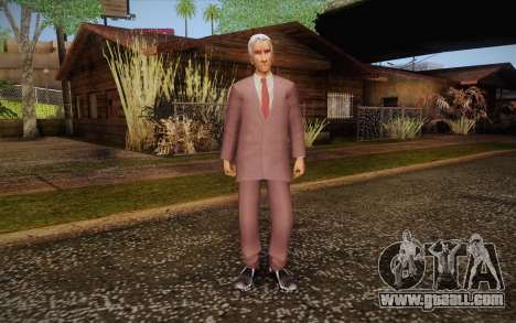Leslie William Nielsen for GTA San Andreas