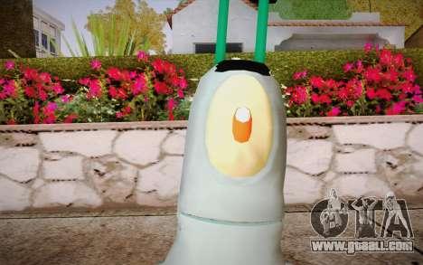 Plankton for GTA San Andreas third screenshot