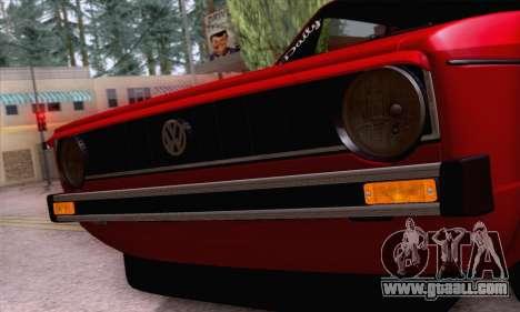 Volkswagen Golf Mk I 1978 for GTA San Andreas
