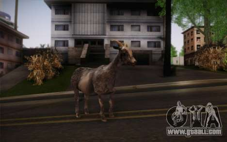 Goat for GTA San Andreas second screenshot