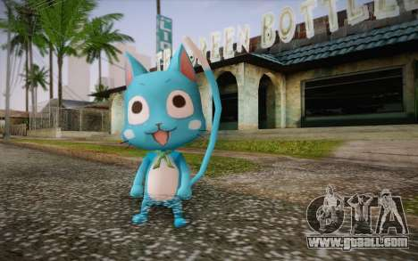 Happy from Fairy Tail for GTA San Andreas
