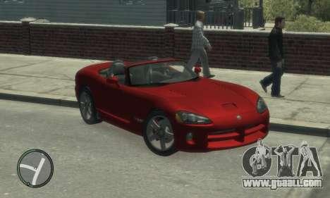 Dodge Viper SRT-10 2003 v2.0 for GTA 4