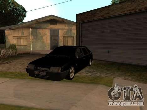 VAZ 2109 Gangster nine V 1.0 for GTA San Andreas side view