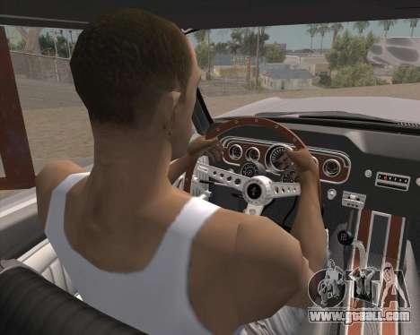 Animation pressing signal for GTA San Andreas second screenshot