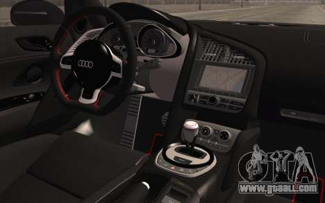 Audi R8 GT 2012 for GTA San Andreas right view