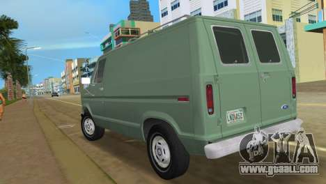 Ford E-150 1983 Short Version Commercial Van for GTA Vice City left view
