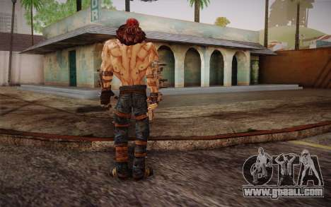 Mr. Torgue из Borderlands 2 for GTA San Andreas third screenshot
