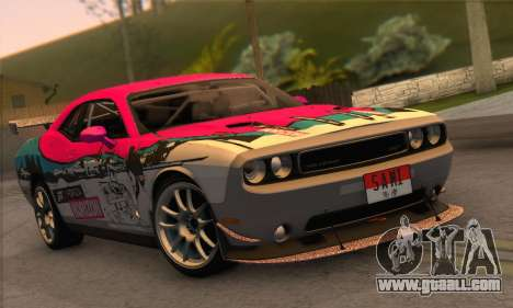 Dodge Challenger SRT8 2012 for GTA San Andreas