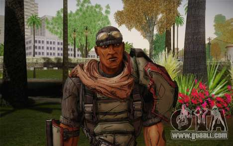 Roland из Borderlands 2 for GTA San Andreas third screenshot