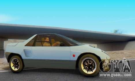 Mazda Autozam AZ-1 for GTA San Andreas back left view