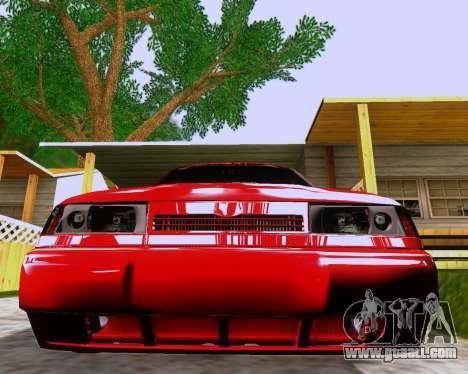 VAZ 2112 Tuneable for GTA San Andreas interior