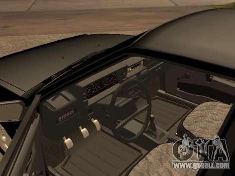 VAZ 2109 Gangster nine V 1.0 for GTA San Andreas left view
