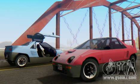 Mazda Autozam AZ-1 for GTA San Andreas side view