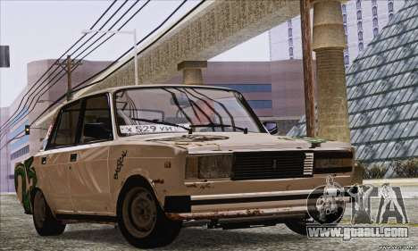 VAZ 2107 GVR for GTA San Andreas