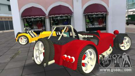 Caterham Super Seven for GTA Vice City left view