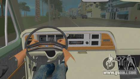 Ford E-150 1983 Short Version Commercial Van for GTA Vice City back left view