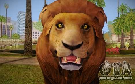 Lion for GTA San Andreas third screenshot