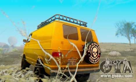 Dodge Tradesman Van 1976 for GTA San Andreas right view