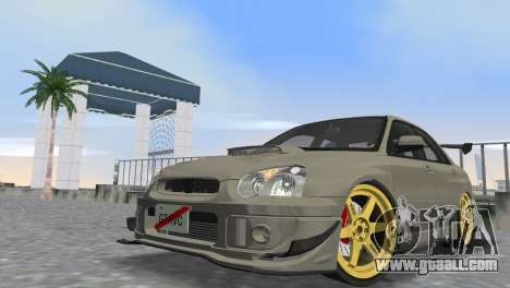 Subaru Impreza WRX STI 2005 for GTA Vice City