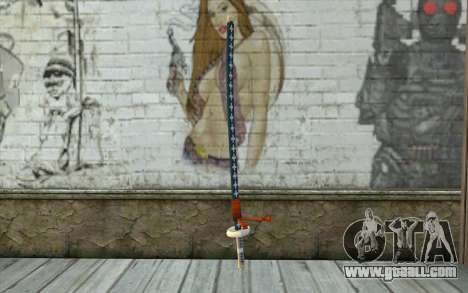 One Piece Sword Trafalgar Law for GTA San Andreas