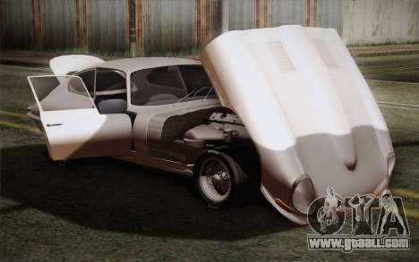 Jaguar E-Type 4.2 for GTA San Andreas side view
