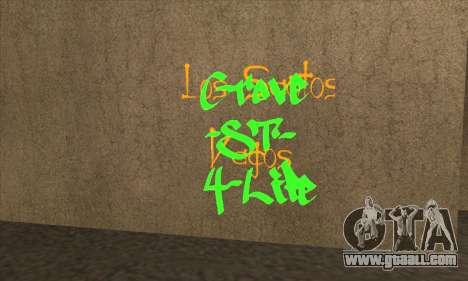 New graffiti for GTA San Andreas third screenshot