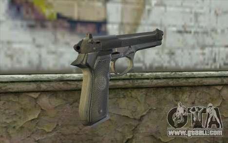 Police Beretta 92 for GTA San Andreas second screenshot