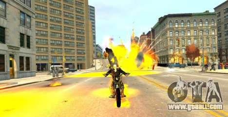 Ghost Rider for GTA 4 forth screenshot