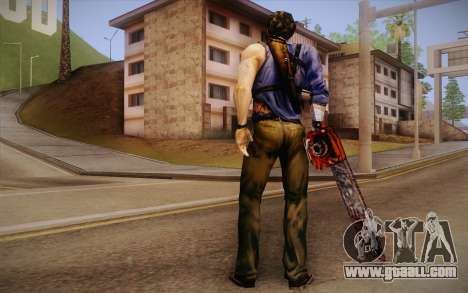 Ash Williams из Evil Dead Regeneration for GTA San Andreas second screenshot