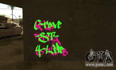New graffiti for GTA San Andreas second screenshot