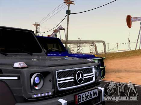Mercedes-Benz G65 AMG 6X6 for GTA San Andreas right view