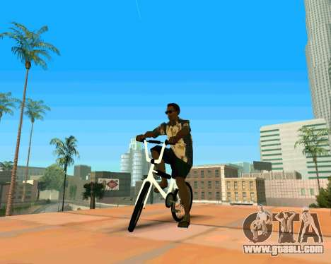 BMX из GTA Vice City Stories for GTA San Andreas right view