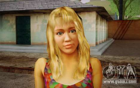 Hannah Montana for GTA San Andreas third screenshot