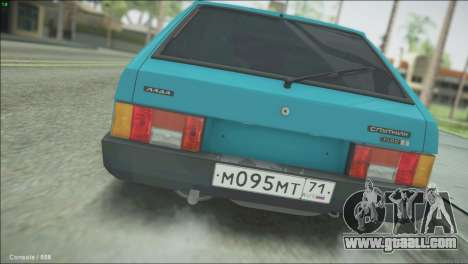 VAZ 2109 for GTA San Andreas left view