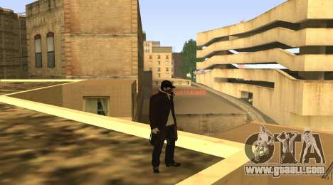 New Aiden Pearce for GTA San Andreas forth screenshot