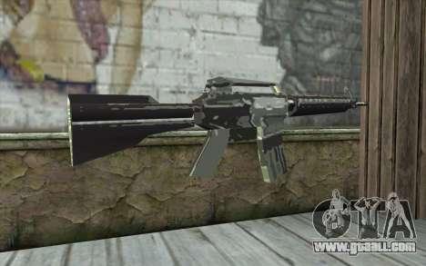 New M4 for GTA San Andreas second screenshot