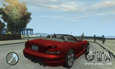 Dodge Viper SRT-10 2003 v2.0 for GTA 4 left view