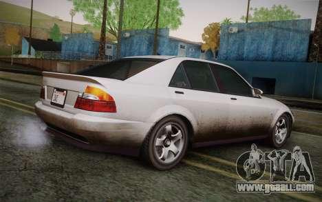 Sultan из GTA 5 for GTA San Andreas left view