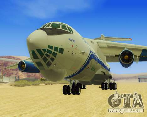 Il-76T AVAST for GTA San Andreas left view