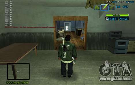 C-HUD by nayshnik for GTA San Andreas second screenshot