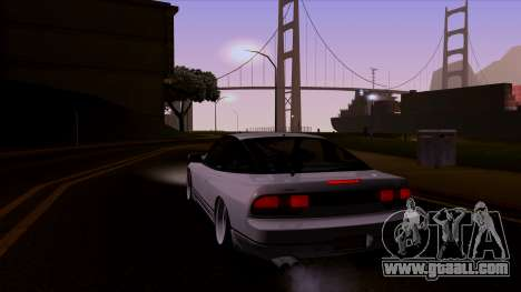 Nissan 240sx Low for GTA San Andreas left view
